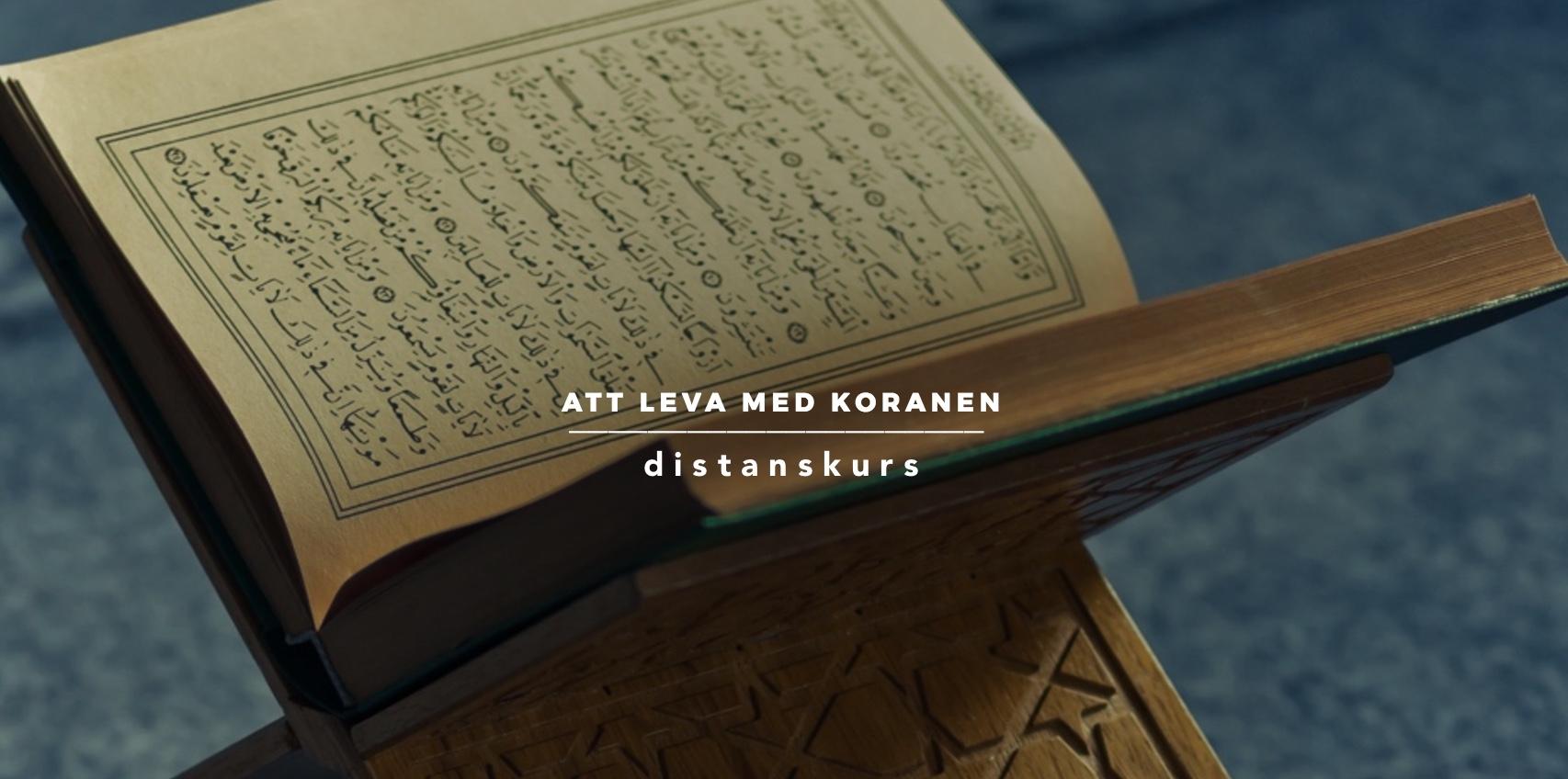 Att leva med Koranen